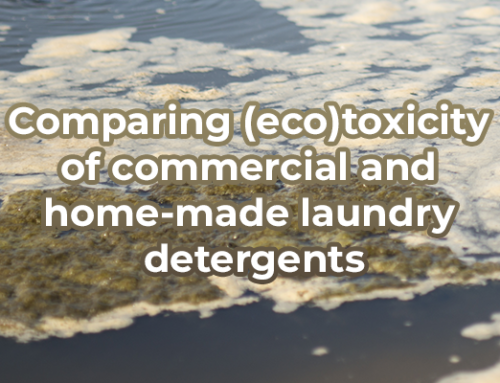 Comparing (eco)toxicity of commercial and home-made laundry detergents